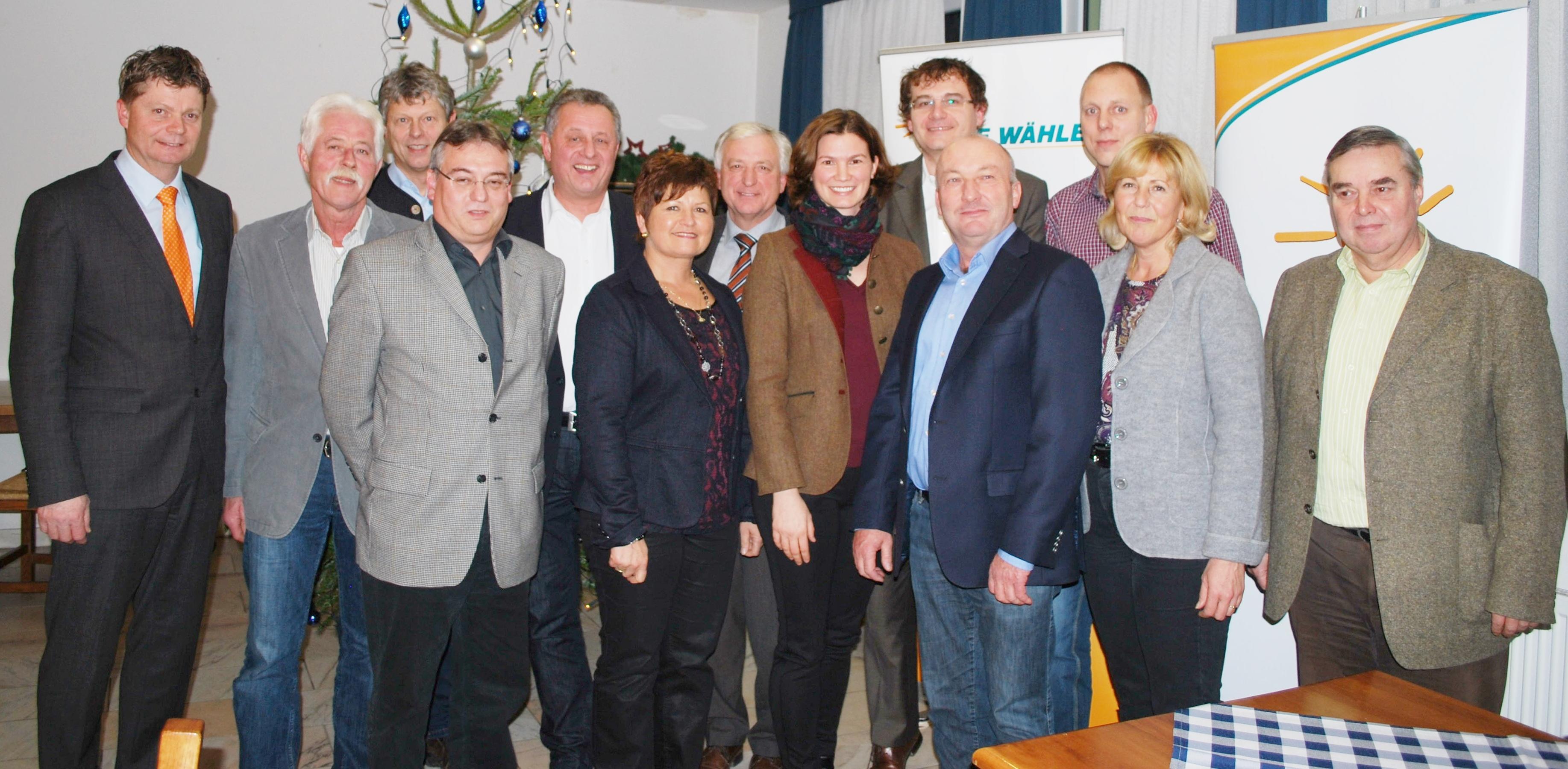 FW Bürgermeister und Bürgermeisterkandidaten