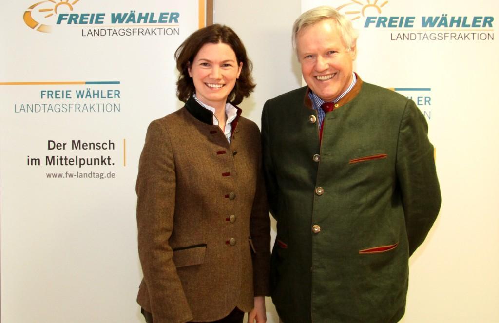 Der Präsident des Bayerischen Jagdverbands, Prof. Dr. Jürgen Vocke besuchte die FREIE WÄHLER Landtagsfraktion.