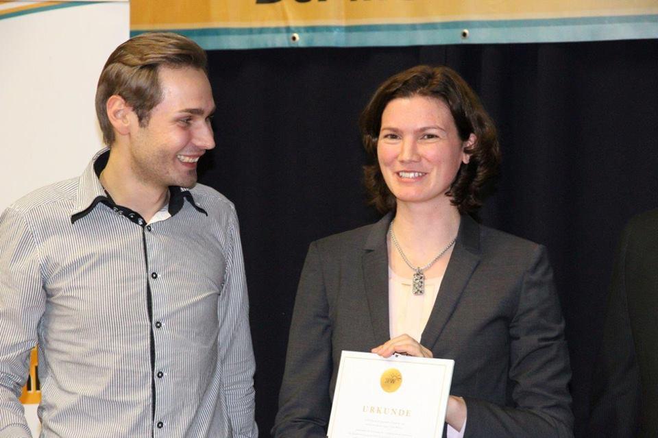tanja Ehrenvorsitzende der JFW