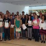 Freisprechungsfeier der Gärtnerinnen und Gärtner 2014 am Beruflichen Schulzentrum Regensburger Land